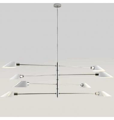 Lámpara de Suspensión COHEN+ de la marca Aromas. 8*E27. Diámetro 1834mm