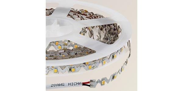 Tira LED Contorno. 12W x metro.12VDC, SMD2835. IP20, Rollo 5 metros. 60 LEDs/metro