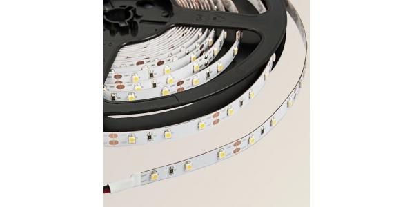 Tira LED 4,8W x metro.12VDC, SMD3528. IP20, Rollo 5 metros. 60 LEDs/metro