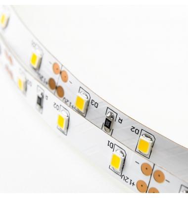 Tira LED 4,8W/m. 12VDC, SMD3528. Carrete 5 metros. 60 LEDs/m. Interior-IP20