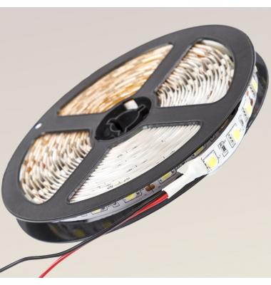 Tira LED 4,8W x metro.12VDC, SMD3528. IP55, Rollo 5 metros. 60 LEDs/metro