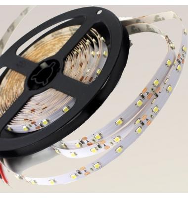 Tira LED 7.2W x metro.12VDC, SMD5050. Rollo 5 metros. 30 LEDs/metro. Uso Interior - IP20