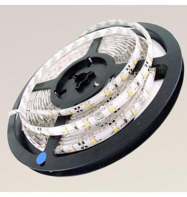 Tira LED 7,2W/m.12VDC, SMD5050. Carrete 5 metros. 30 LEDs/m. Interior - Espacios Húmedos - IP55