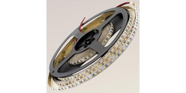 Tira LED 9.6W x metro.12VDC, SMD3528. Rollo 5 metros. 120 LEDs/metro. Uso Interior - IP20