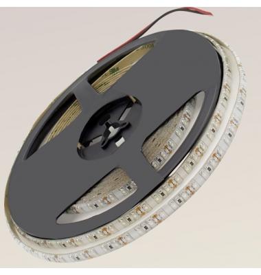 Tira LED 9.6W x metro.12VDC, SMD3528. Rollo 5 metros. 120 LEDs/metro. Uso Interior y Espacios Húmedos - IP55