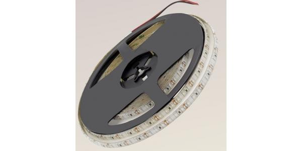 Tira LED 9.6W x metro.12VDC, SMD3528. Rollo 5 metros. 120 LEDs/metro. Uso Interior y Espacios Húmedos - IP65