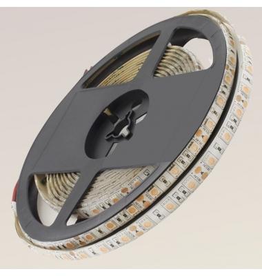 Tira LED 14,4W/m. 12VDC, SMD5050. Carrete 5 metros. 60 LEDs/m. Interior - Espacios Húmedos - IP55