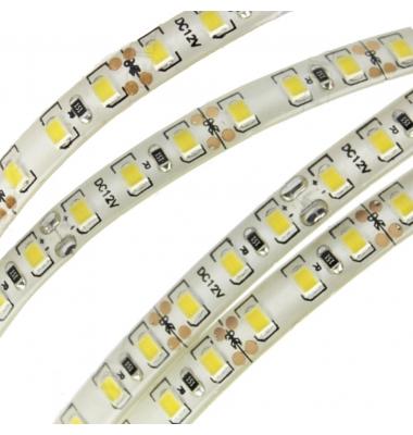 Tira LED 14,4W x metro.12VDC, SMD5050. Rollo 5 metros. 60 LEDs/metro. Uso Interior y Espacios Húmedos - IP65