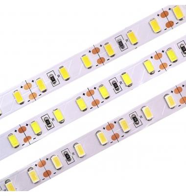 Tira LED 15W/m. 12VDC, SMD5630. Carrete 5 metros. 60 LEDs/m. Interior-IP20