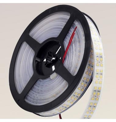 Tira LED 19.2W x metro.12VDC, SMD3528. Rollo 5 metros. 240 LEDs/metro. Uso Interior y Espacios Húmedos - IP55