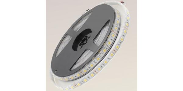 Tira LED 14,4W x metro.12VDC, SMD5050. Rollo 5 metros. 60 LEDs/metro. Uso Exterior y Espacios Húmedos - IP68