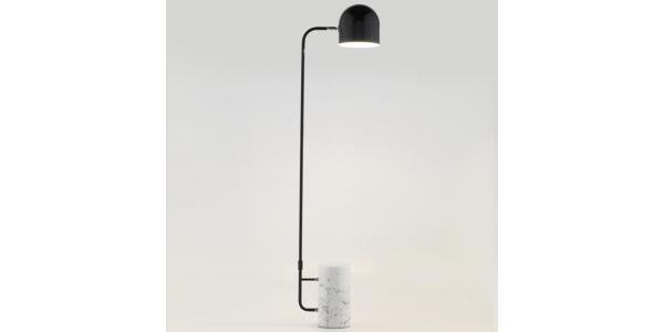 Lámpara de Pie Interior LUCA de la marca Aromas. 389*1560mm. 1*E27