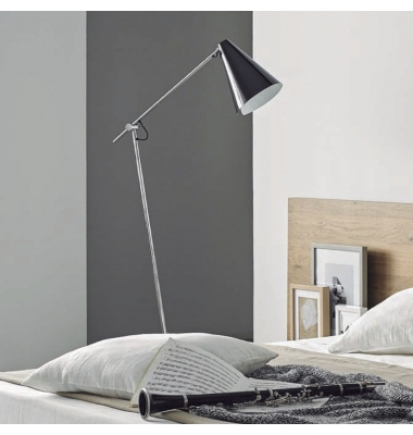 Lámpara de Pie Interior LUA de la marca Aromas. 1210*606mm. 1*E27