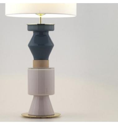Lámpara de sobremesa KITTA PONN de la marca Aromas. Diámetro 220mm. 1*E27