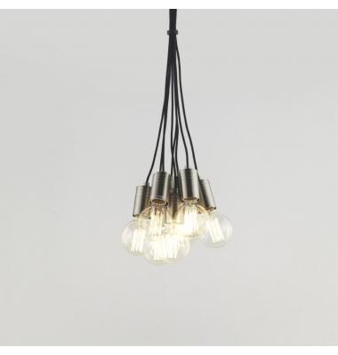Lámpara de Suspensión CROW 8 de la marca Aromas. 8*E27. 1500*192mm