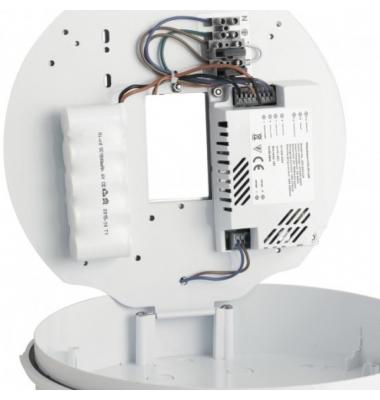 Plafón LED 16W con Emergencia de 120 Lm. Blanco Natural. Marca Fan Europe. IP54