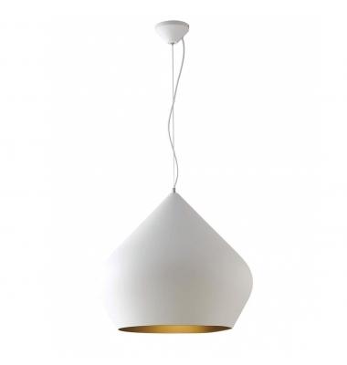 Lámpara de Suspensión THOLOS de la marca Luce Ambiente Design. 1*E27. Interior oro satinado