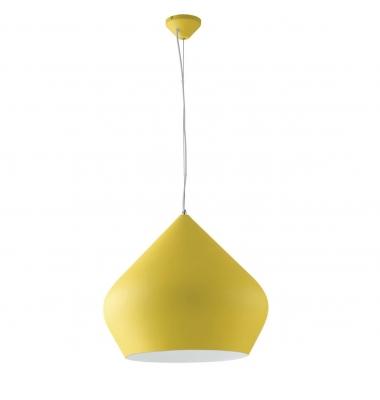 Lámpara de Suspensión THOLOS de la marca Luce Ambiente Design. 1*E27. Interior blanco