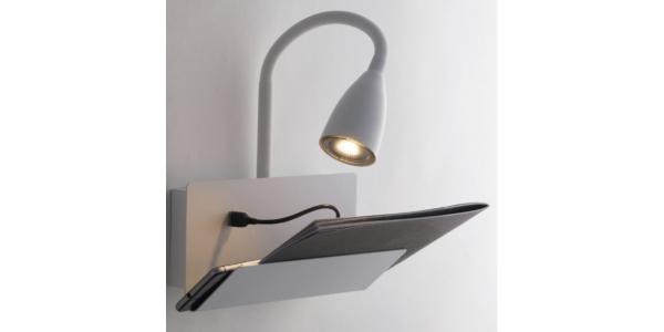 Aplique Pared Interior GULP de la marca Luce Ambiente Design. 1*GU10. 230*270-490mm