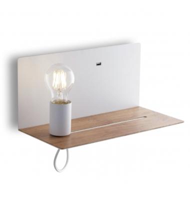 Aplique Pared Interior FLASH de la marca Luce Ambiente Design. 1*E27. 330*150mm