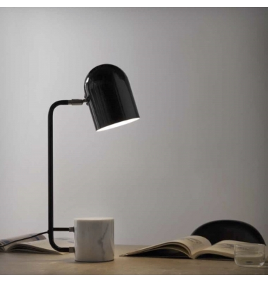 Lámpara de sobremesa LUCA de la marca Aromas. 274*600mm. 1*E27