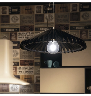 Lámpara de Suspensión CALDER de la marca Luce Ambiente Design. 1*E27. Diámetros: 300/500mm