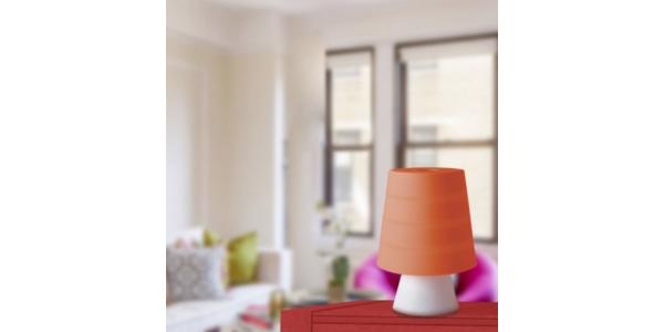 Lámpara de sobremesa DRUM de la marca Luce Ambiente Design. 1*E14. Diámetro 130mm