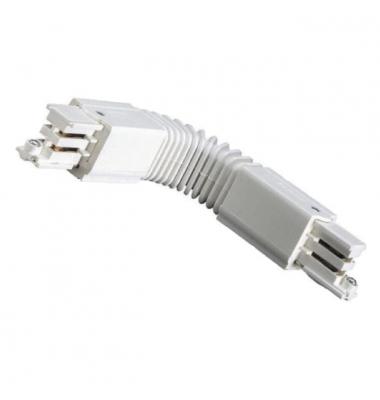 Conector unión flexible Carriles Trifásico