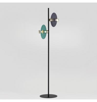 Lámpara de Pie Interior OHLALA de la marca Aromas. 1500*Ø300mm. 2*E27