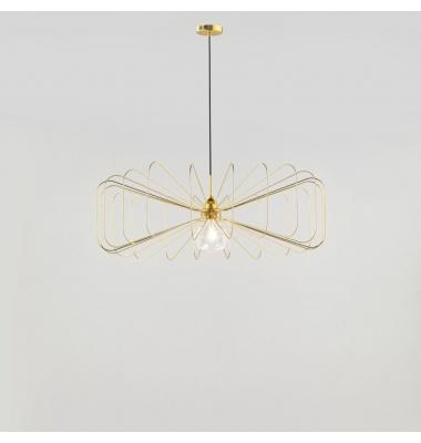 Lámpara de Suspensión CRAWFORD de la marca Aromas. 860*260mm. 1*E27