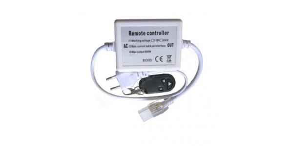 Controlador Tira LED 220V MonoColor Control Remoto