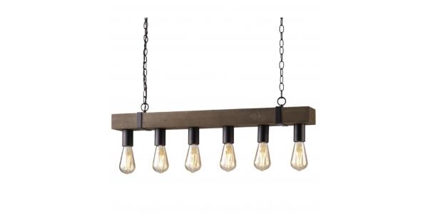 Lámpara de Suspensión TEXAS de la marca Luce Ambiente Design. 800*1000mm 6*E27