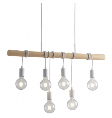 Lámpara de Suspensión ARIZONA de la marca Luce Ambiente Design. 900*1200mm. 6*E27