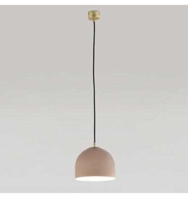 Lámpara de Suspensión ALPHA de la marca Aromas. 1*E27. 1500*Ø180mm