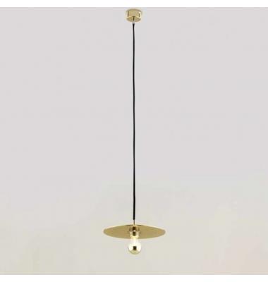 Lámpara de Suspensión DISC de la marca Aromas. 1*E27. 1500*Ø100mm
