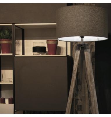 Lámpara de Pie Interior GALLERY de la marca Luce Ambiente Design. 1560*Ø7510mm. 1*E27