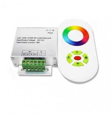 Controlador RGB Táctil 216W Control Remoto