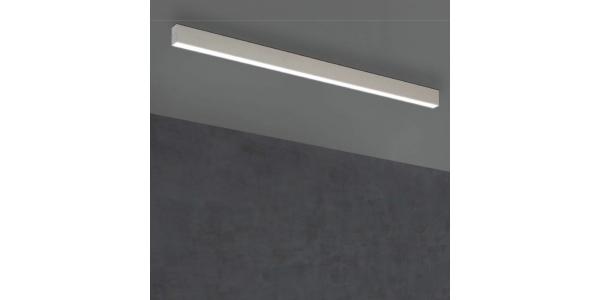 Plafón Lineal Ti-Zas Blanco de la marca Olé by FM. LED 13W. Longitud 85 cm.