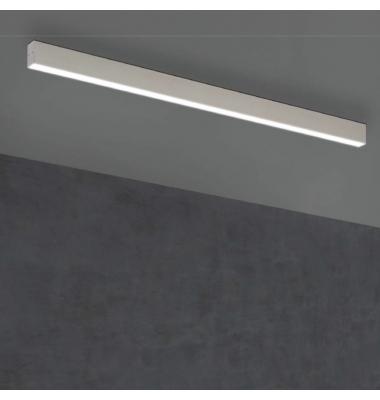 Plafón Lineal Ti-Zas Blanco de la marca Olé by FM. LED 35W. Longitud 225 cm.