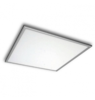 Panel LED 50W Offix. 60 x 60. 4.500 Lm. Marco Plata