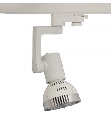 Foco Carril Orientable Monofásico Blanco PAR30 35W LED Osram. 1 encendidos. Ángulo 25º