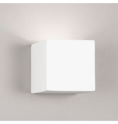 Aplique Pared de Yeso RUBIK de la marca Intec Light. Para Bombilla LED G9