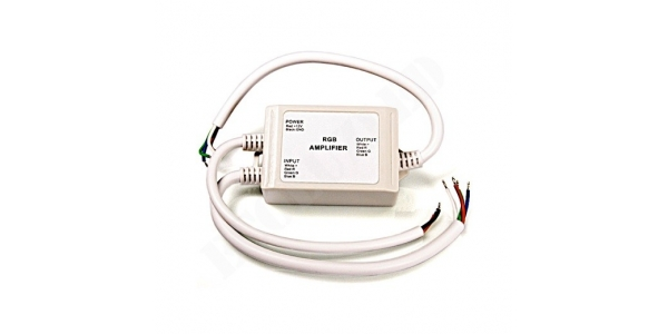 Amplificador LED y RGB 144W para Exterior