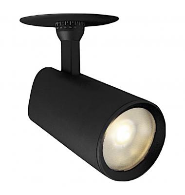 Foco Empotrar LED Focus, 20W. Negro Mate, Ángulo 24º, Led Citizen, Eléctronica Tridonic