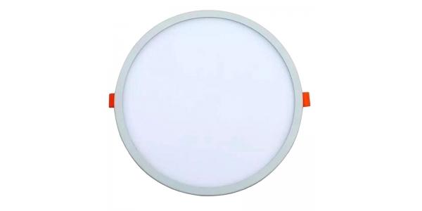 Downlight Ajustable LED Bid Blanco 20W. 1650 Lm. Ángulo 120º. Agujero 50mm a 210mm