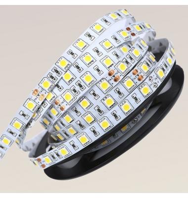 Tira LED 14,4W x metro. 24VDC, SMD5050. Rollo 5 metros. 60 LEDs/metro. Uso Interior - IP20