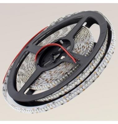 Tira LED 19.2W x metro. 24VDC, SMD3528. Rollo 5 metros. 240 LEDs/metro. Uso Interior y espacios Húmedos - IP55