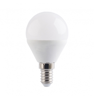 Bombilla LED E14, G45, Esférica, 6W, Ángulo 160º