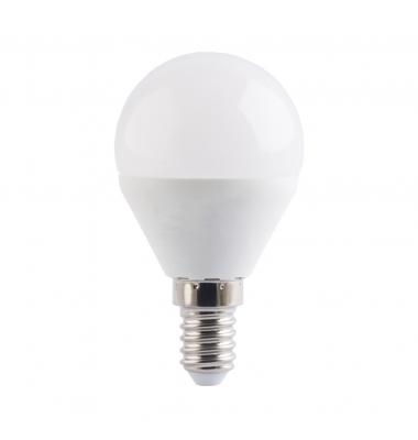 Bombilla LED E14, G45, Esférica, 4W. Ángulo 180º