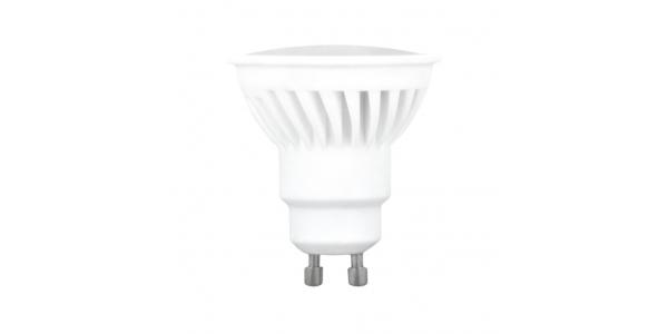 Bombilla LED GU10 10W Cerámica. 120º Blanco Cálido